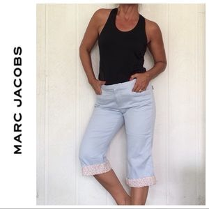 MARC JACOBS COTTON TURN UP JEANS SIZE 12